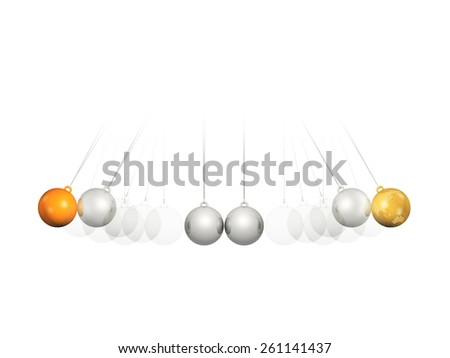 Balance Ball - stock photo
