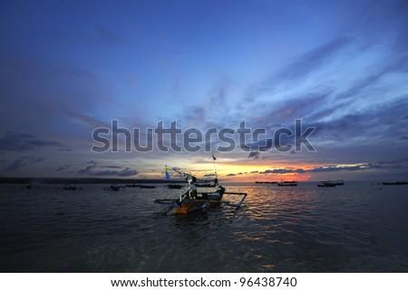 Bali - Jimbaran Beach - stock photo