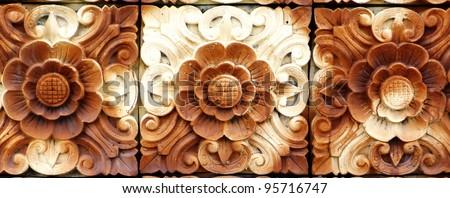 Balinese Stone Craft Art - stock photo
