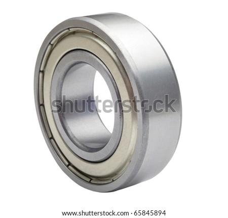 ball bearings - stock photo