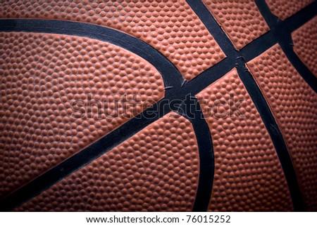 ball of basketball - stock photo
