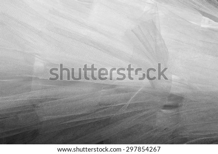 Ball white.  White cloth.  tissue, textile, fabric, material, texture.  - stock photo