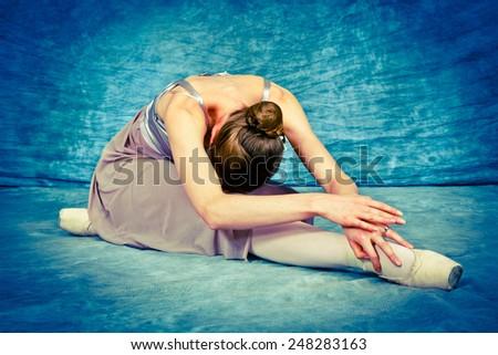 Ballet Pose - stock photo