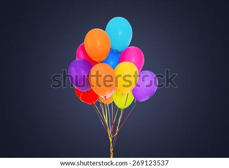 Balloon, Birthday, Party. - stock photo