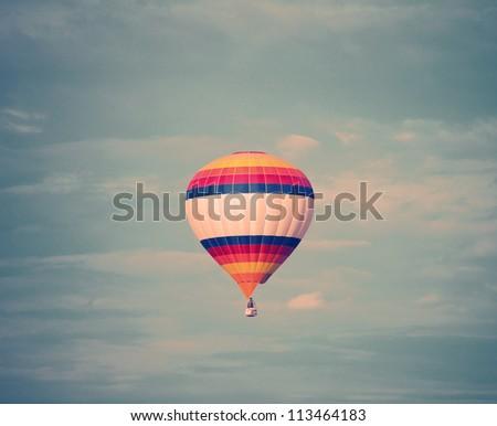 balloon in the sky - stock photo