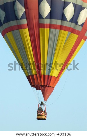 balloon six - stock photo