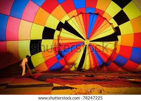 Balloons , Thailand - stock photo