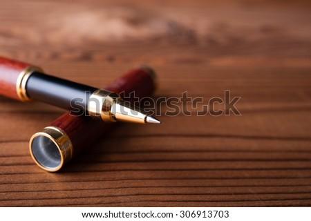 Ballpoint pen - stock photo