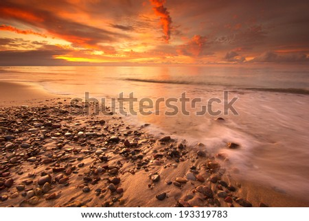Baltic Sea./ Baltic Sea. - stock photo