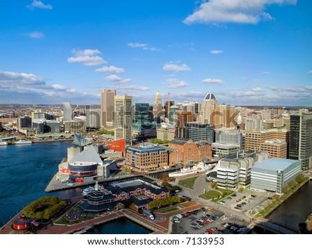 Baltimore Harbor - stock photo