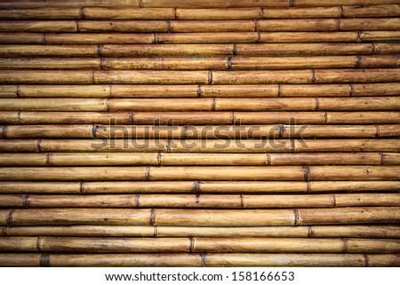 Bamboo background texture. - stock photo