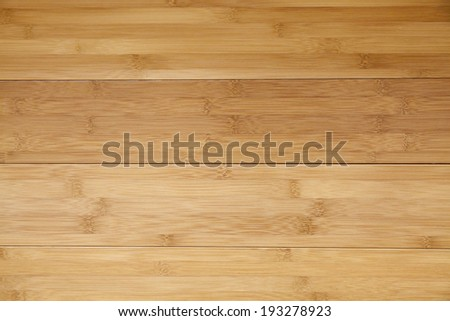 Bamboo hardwood Flooring - stock photo