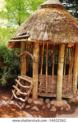 Bamboo Hut Stock Photos Images Amp Pictures Shutterstock