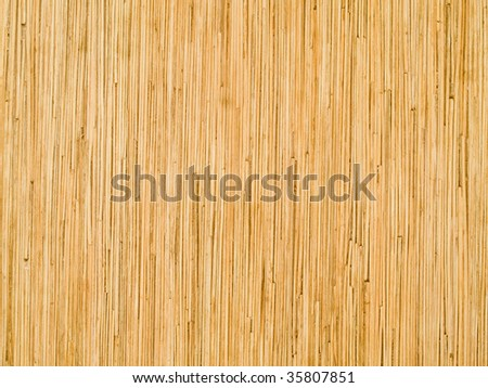 bamboo plank background - stock photo