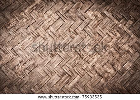 bamboo texture - stock photo