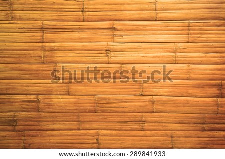 Bamboo texture background - stock photo