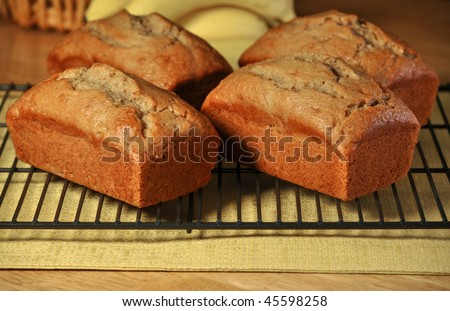Banana Bread - stock photo