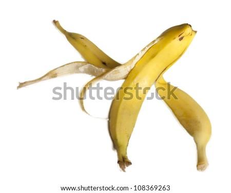 Banana peal - stock photo