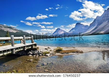Banff National Park, Alberta, Canada, - stock photo