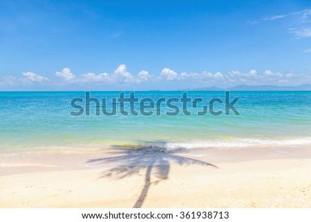 Bang Po beach in Koh Samui, Thailand. - stock photo
