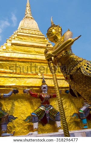 Bangkok Grand Palace - stock photo
