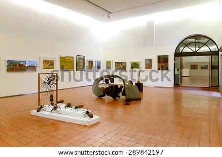 BANGKOK - JUNE 19 : Thai Contemporary Art Exhibition by youth artist on June 19, 2015 at The National Gallery Bangkok, Thailand. - stock photo