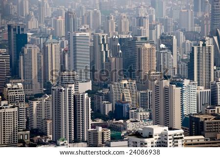 Bangkok skyline, Thailand. - stock photo