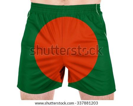 Bangladesh. Bangladeshi flag - stock photo