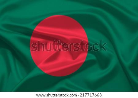 Bangladesh flag - stock photo