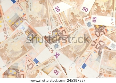bank notes texture - stock photo