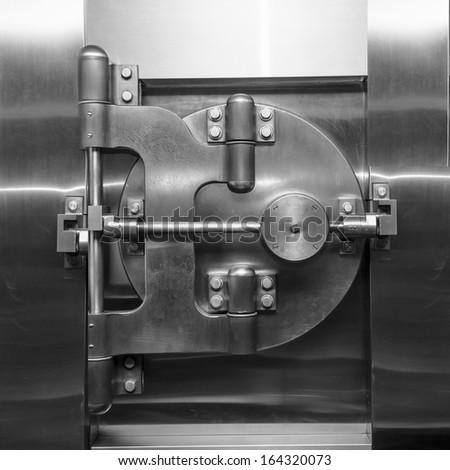 Bank Vault - stock photo