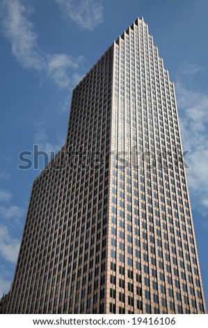 Banking Tower(Release Information: Editorial Use Only. Use of this image in advertising or for promotional purposes is prohibited.) - stock photo