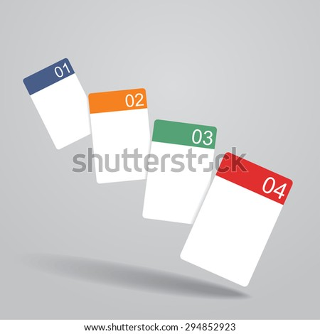 Banner template with place for your text. Raster version - stock photo
