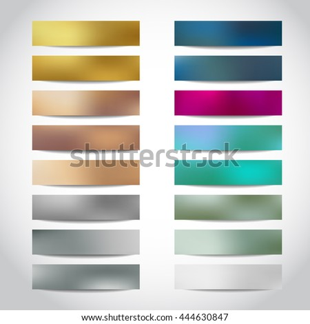 Banners Big set templates, website headers. Gold, golden, beige, bronze, silver, white, blue banners, headers design. Merry Christmas and Happy New Year banners, flyers, cards, posters, headers - stock photo