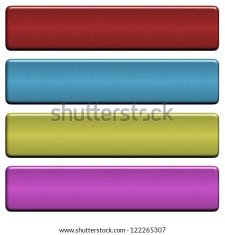 banners headers colorful - stock photo