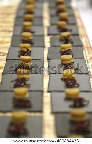 banquet dish - stock photo