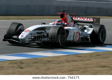 Bar Honda Formula One 2005 world championship - stock photo