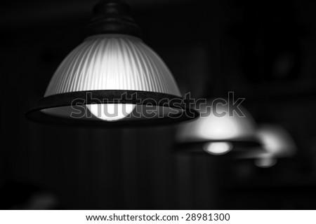 Bar lamps - stock photo