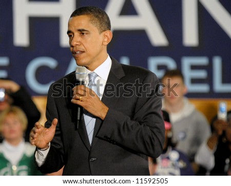 Barack Obama - stock photo