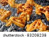 barbecue grilling at  weekend in the summer - stock photo