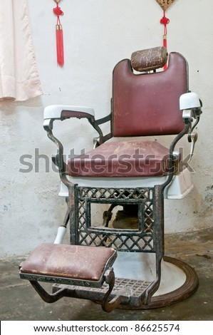 Old Barber Shop Chairs