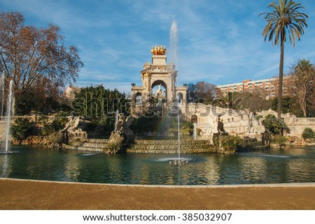 Barcelona - stock photo
