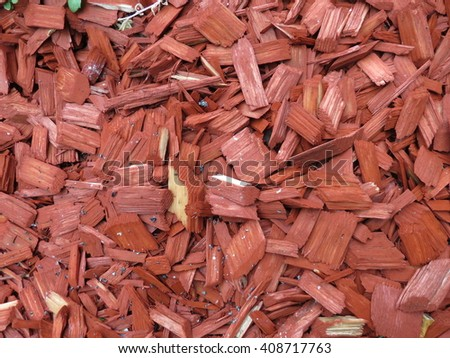 Bark mulch texture useful as a background - stock photo