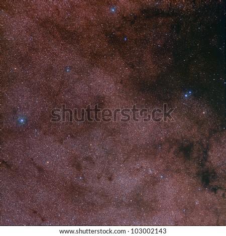 Barnard 322 nebula - stock photo