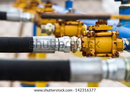 Barometer tubes. - stock photo