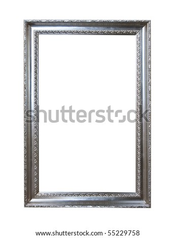 Baroque picture frames to put your own pictures in. - stock photo