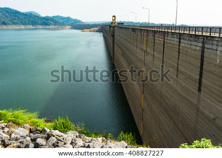 Barrage agricultural - stock photo