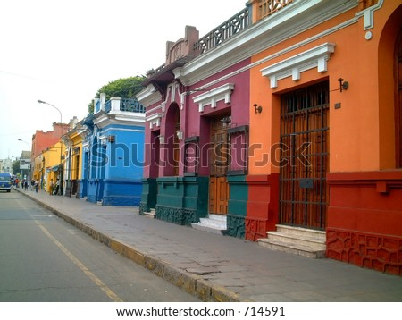 barranco, lima, peru - stock photo