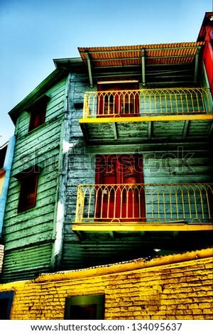 Barrio Boca - stock photo