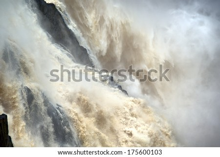 Barron Falls, Barron Gorge near Cairns, Queensland, Australia - stock photo